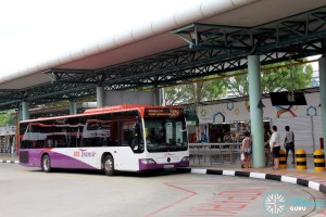 SBS Transit Mercedes-Benz Citaro (SBS6590A) - Service 329 at Hougang Central Interchange