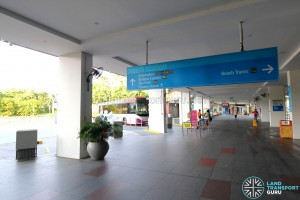 Beach Station Bus Terminal Concourse