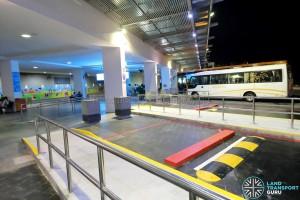 Beach Station Bus Terminal - Wheelchair-Accessible End-On Berths