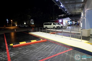 Wheelchair-accessible end-on berths for Bus Service 123