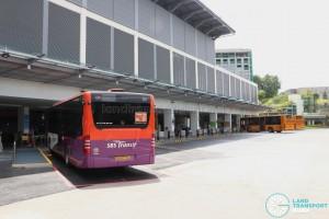 Beach Station Bus Terminal - Parking Lots