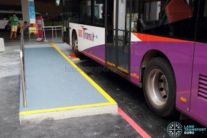 Wheelchair-accessible End-on lots for Service 123
