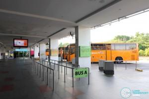Sentosa Bus A berth at Beach Station Bus Ter