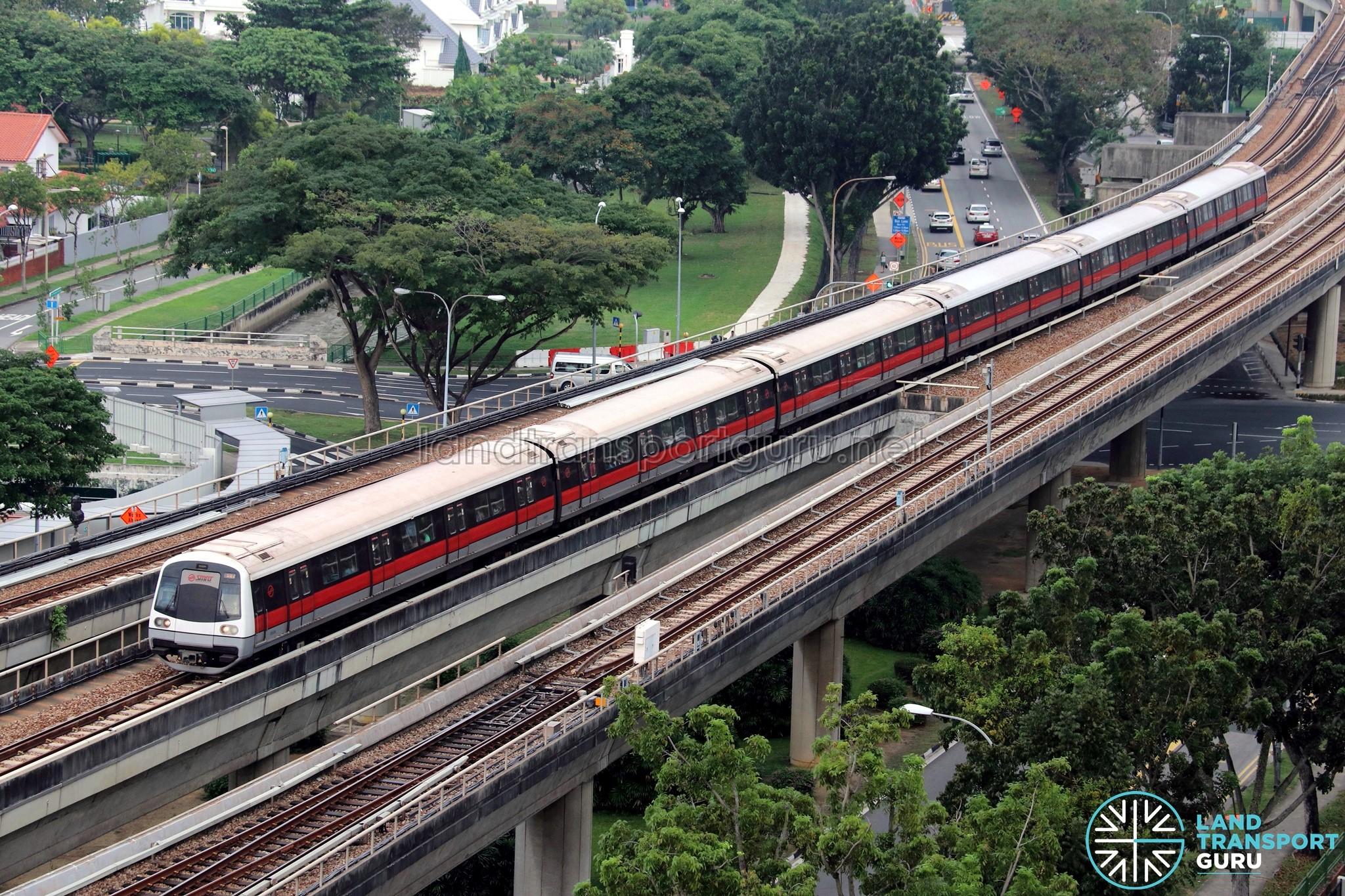 SMRT C151A Train