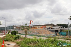 Hougang Bus Depot Expansion: View from Kim Chuan Road