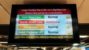 Signal fault on the NSL