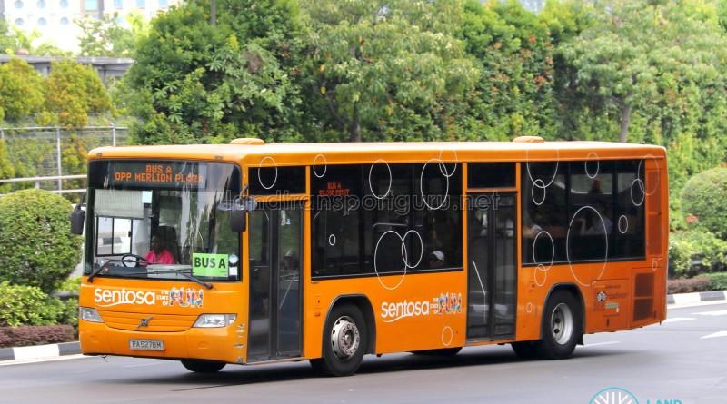 Sentosa Development Corp Volvo B7RLE (PA5278M) - Sentosa Bus A