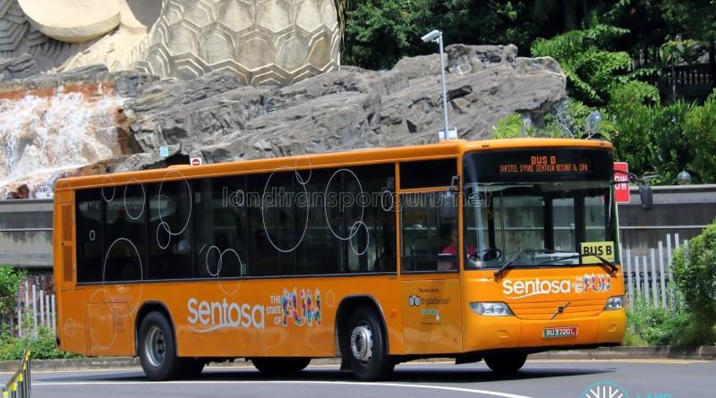 Sentosa Development Corp Volvo B7RLE (RU3720L) - Sentosa Bus B