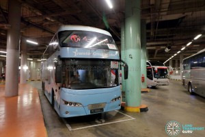 Resorts World Sentosa - Coach Bay - TS8 Berth (Lane 9)