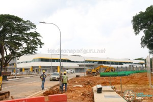 Seletar Bus Depot Construction (July 2017)