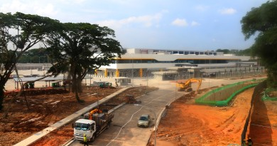 Seletar Bus Depot Construction (July 2017)