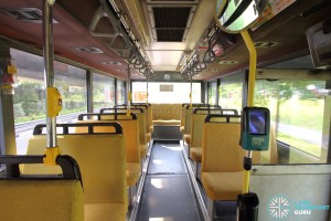 Volvo B10M MkIV - Interior (Mid to Rear)