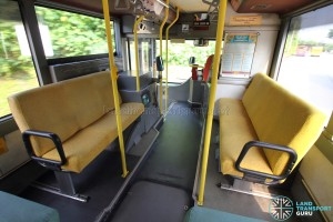 Volvo B10M MkIV - Interior (Side-facing seats)