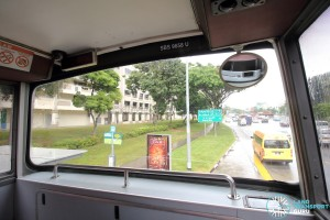 Volvo Olympian - Upper Deck (Front windscreen and periscope)