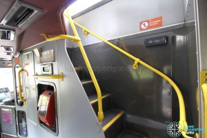 Volvo Olympian - Staircase from lower deck