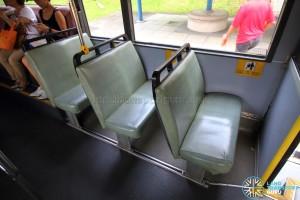 Volvo Olympian - Lower Deck priority seats