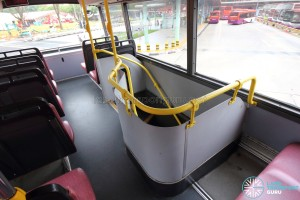 Volvo Olympian - Staircase from Upper Deck