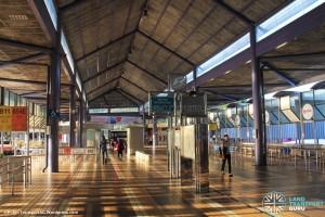 Old Yishun Bus Interchange (March 2015) - Interchange Concourse