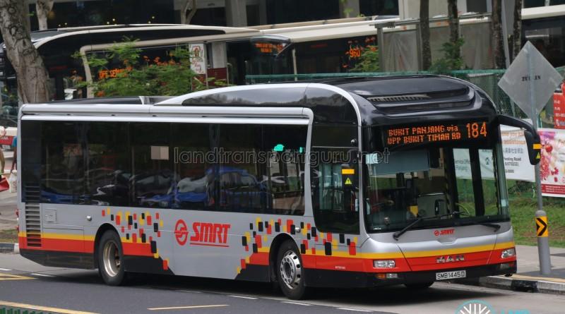 SMRT MAN A22 (SMB1445D) - Service 184