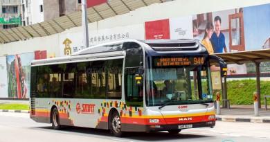 SMRT MAN A22 (SMB1512T) - Service 944