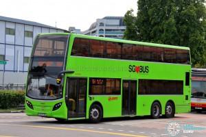 SMRT Alexander Dennis Enviro500 (SG5703K) - Service 964