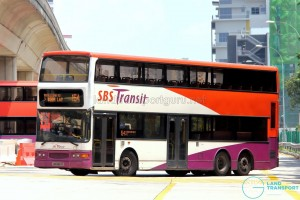 SBS Transit Dennis Trident (SBS9687K) - Service 154