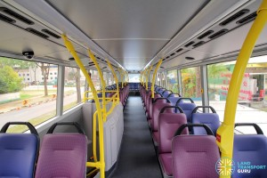 Alexander Dennis Enviro500 (Batch 2) - Upper Deck (Front to Rear)