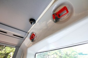 Alexander Dennis Enviro500 (Batch 2) - Upper Deck - Rear emergency hammers