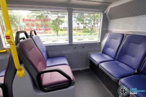 Alexander Dennis Enviro500 (Batch 2) - Lower Deck - Rear seating area