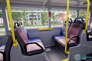 Alexander Dennis Enviro500 (Batch 2) - Lower Deck - Rear facing seats