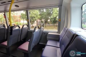 Alexander Dennis Enviro500 (Batch 2) - Upper Deck - Last row seats