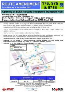 Bukit Panjang ITH Opening - Bus Stop 44739 Poster
