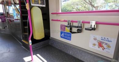 Stroller Restraint System on Service 69