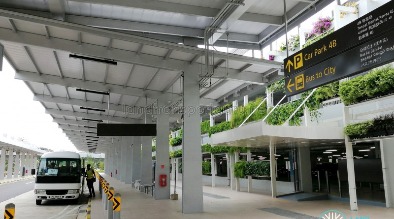Changi Airport PTB4 Bus Stand