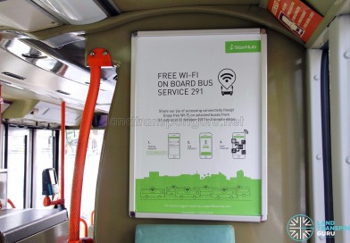 Free Wi-Fi access on SBS Transit Service 291