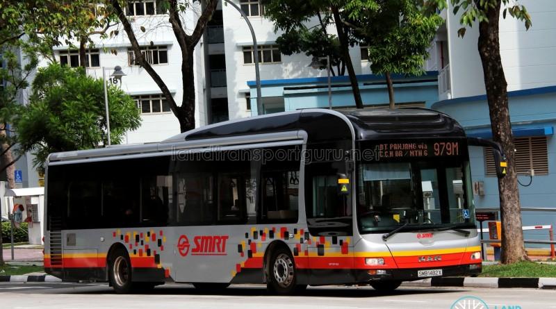 SMRT MAN NL323F (SMB1482X) - Service 979M