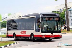 SMRT MAN NL323F A22 (SMB285E) - Service 912A