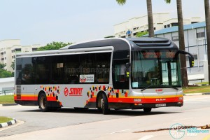 SMRT MAN NL323F A22 (SMB3077U) - Service 912A