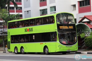 SMRT Volvo B9TL Wright (SG5151C) - Service 982E