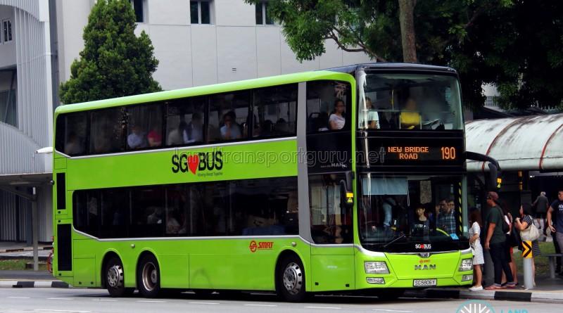 SMRT MAN A95 Facelift (SG5806Y) - Service 190