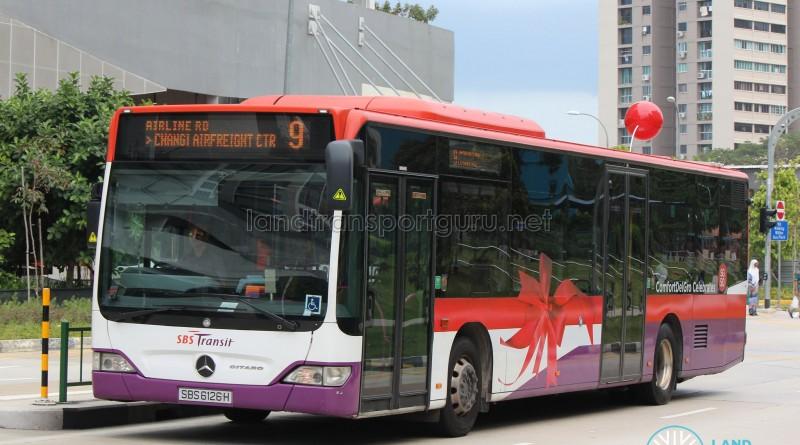 SBST Mercedes-Benz O530 Citaro (SBS6126H) - Service 9