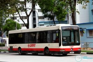 SMRT Mercedes-Benz OC500LE (SMB80D) - Service 922