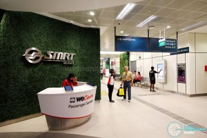Bukit Panjang Bus Interchange - Passenger Service counter