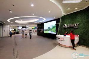 Bukit Panjang Bus Interchange - Interchange Foyer