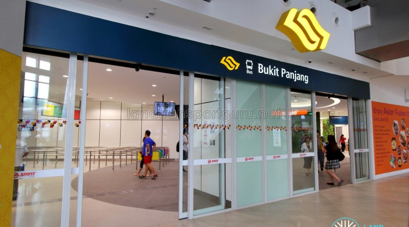 Bukit Panjang Bus Interchange - Hillion Mall entrance