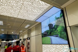 Bukit Panjang Bus Interchange - Video wall