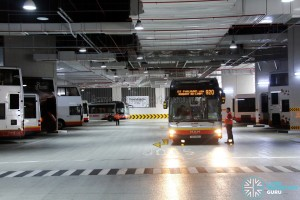 Bukit Panjang Bus Interchange - Bus Park