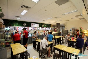 Bukit Panjang Bus Interchange - NTWU Canteen (near alighting berth)