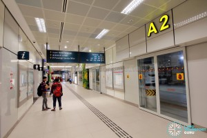 Bukit Panjang Bus Interchange - Alighting Berths