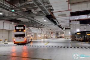 Bukit Panjang Bus Interchange - Bus Park